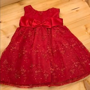 Baby girl holiday dress